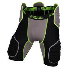 Active Athletics Elite Pantalon de Football Americain avec 5 pads intégrées