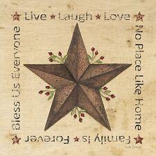 Art Print, Framed or Plaque by Linda Spivey - Live Laugh Love Barn - LS1563