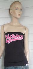"""Dickies """"Script""""  BoobTube - NWT - Black with Pink Dickies"""