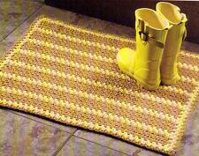 FALL Harvest Rug/Decor/Crochet Pattern Instructions