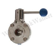 VALVOLA dischi in acciaio inox 1.4404 DIN 11852 div. dimensioni Butterfly valve 316l