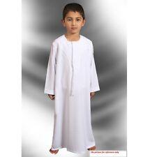 Dubai Omani kids boys dishdasha Khaliji style thobe Jalabeya Islamic boys dress