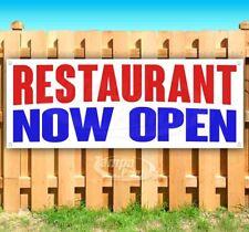 Restaurant Now Open Advertising Vinyl Banner Flag Sign Many Sizes