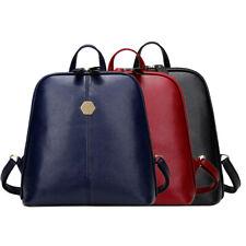 Women Backpack PU Leather Schoolbag Travel Rucksack Handbag Shoulder Bag Satchel