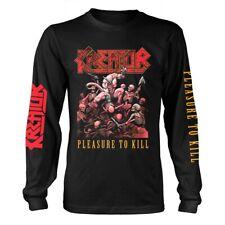 Kreator 'Pleasure To Kill' Long Sleeve T shirt - NEW