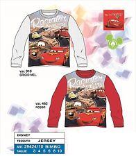 Cars maglia maglietta manica lunga anni 3 4 5 6 8 10 - giocoacuolaregalo