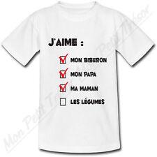 T-shirt Enfant Questionnaire - Humour