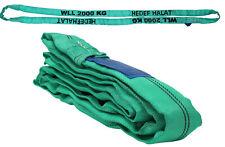 2t/ 2000kg Rundschlinge Hebegurt Hebeschlinge Schlinge Krangurt Hebeband 1 -10m