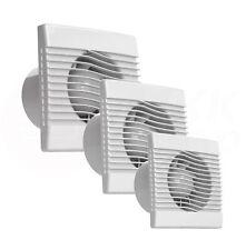 Badlüfter Wandlüfter WC Küche Wohn-Lüfter Ventilator Rückstauklappe leise Decke