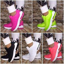 Wow XXL AIR Sportschuhe / Sneakers mit weißer Sohle
