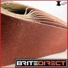 10x Sanding Belts 75x533  Mixed Grade belt sander sand paper endless Best