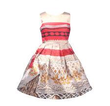 Tipo Vaiana Vestito Carnevale Bambina Simil Moana Costume Dress DREVA04 E