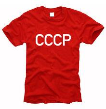 CCCP URSS Russia-caballeros-t-shirt, talla s hasta XXL