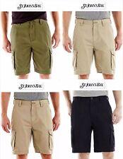NWT Sz 36/42/44 St John's Bay Men Cargo Shorts Beige,Olive Green, Navy Blue New