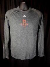 Houston Rockets Men's Adidas Long Sleeve Climalite Shirt