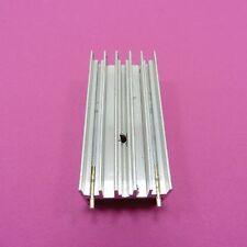 RADIATORE IN ALLUMINIO 23 x 50 x 16 mm piccolo Dissipatore di calore TO-220 raffreddamento IC Chip