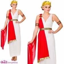 Glamorous Roman Lady Adulto Antiguo Diosa Griega Taje de Lujo