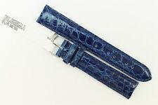 MORELLATO: Uhrenarmband 18mm Echtes Krokodilleder Blau UVP: 92€ -50%