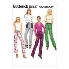 NEW Butterick B6137 Misses' Pants By Spotlight