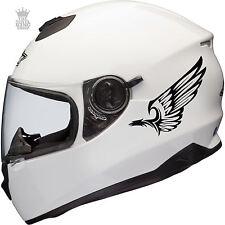2 x Tribal Decalcomania In Vinile Eagle Wings ADESIVI CASCO BICI MOTO SCOOTER QUAD