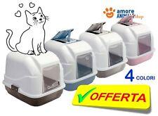 Imac EASY CAT LETTIERA chiusa 50x40x40 cm per gatto, igiene toilette COLORI VARI