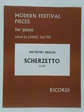 easy piano ANTHONY HEDGES scherzetto