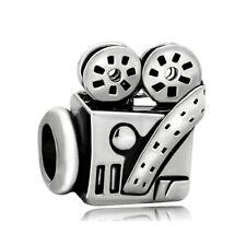 Cinema Movies Lover Hollywood Film Video camera charm F/European Bracelet chain
