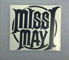 Miss May I Logo Vinyl Sticker Decal bumper car window laptop truck wall USA