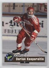 1992-93 Classic Draft Picks Limited Print #LP4 Darius Kasparaitis Hockey Card