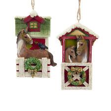 Horse Barn Ornaments