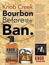 Knob Creek Bourbon, Retro vintage style metal tin sign gift Home Decor Pub
