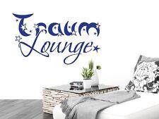Wandtattoo für Schlafzimmer Wandtatoo Aufkleber Sprüche Traum Lounge