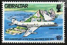 RAF Hawker Siddeley Nimrod M.R.1 avión avión sello de menta (Gibraltar)