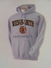 SOBRIETY CLOTHING - HOODIE - WILSON SMITH UNIVERSITY - ASH