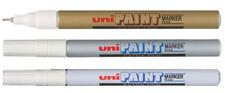 Uni-ball PX-203 Extra Fine Uni Paint Marker PX203-or blanc argent 1 2 3 6 12