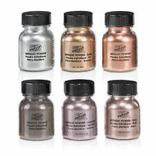 Mehron Metallic Powder Copper Gold Silver Bronze Lavender Rose Gold Face Makup
