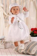 (Nr.036a)  Taufkleid Festkleid Taufgewand Kleid Taufe Hochzeit Babykleid Taufset