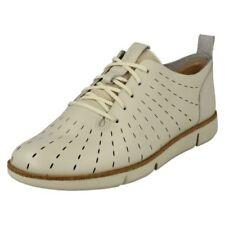Mujer Clarks Elegante Zapatos Con Cordones TRI Grabado