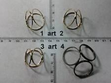 1 ferma foulard 3 anelli a scomparsa attacco foulard artigianale made in italy
