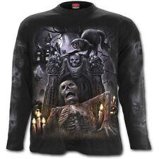 Spiral direct rock éternel t-shirt à manches longues/metal/crâne/celtic/dark wear/top