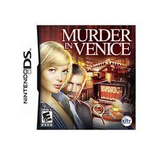 Murder in Venice (Nintendo DS, 2011) Game Cartridge Nur-Keine Hülle