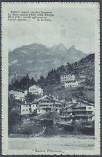 BELLUNO CADORE 01 Cadore Pittoresco POESIA G. BARBIERI Cartolina viaggiata 1915