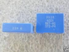 10 condensateurs 22nF 0,022uF 400V Philips MKT-372