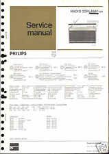 Philips Original Service Manual für 22 RL 484