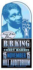 B.B. King Concert HANDBILL Corey Harris Artist Mark Arminski BB King