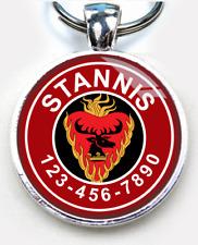 Game of Thrones baratheon of dragonstone RED ID tag CUSTOM pet tag dog cat