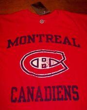 VINTAGE MONTREAL CANADIENS  NHL HOCKEY T-Shirt SMALL NEW w/ TAG