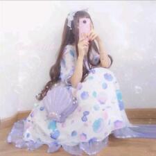 Lolita Japanese Sweet Vintage Mori Girl kawaii Cute OP Bow Princess Dress