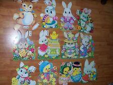 Vintage Decoration Easter Diecut Cutouts HMS #201 to #212 U Pick NOT a LOT