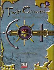 D&D 3RD DUNGEONS DRAGONS D20 TWIN CROWNS AGE OF EXPLORATION + ERRATA RPG MODULE